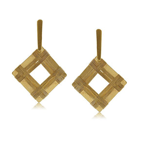 10774R 18K Gold Layered Earring