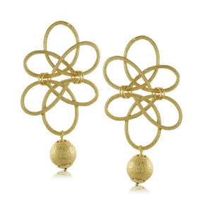 11264R 18K Gold Layered Earring