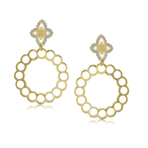 11799R 18K Gold Layered Earring
