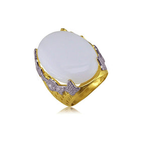 13101 18K Gold Layered Women's Ring