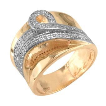 13197v 18K Gold Layered Women's Ring Rose Gold