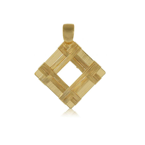 20002R 18K Gold Layered  Pendant