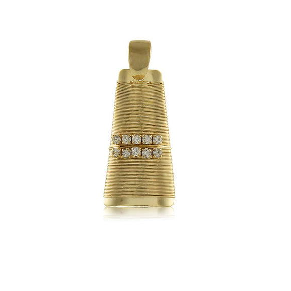 20004R 18K Gold Layered Pendant