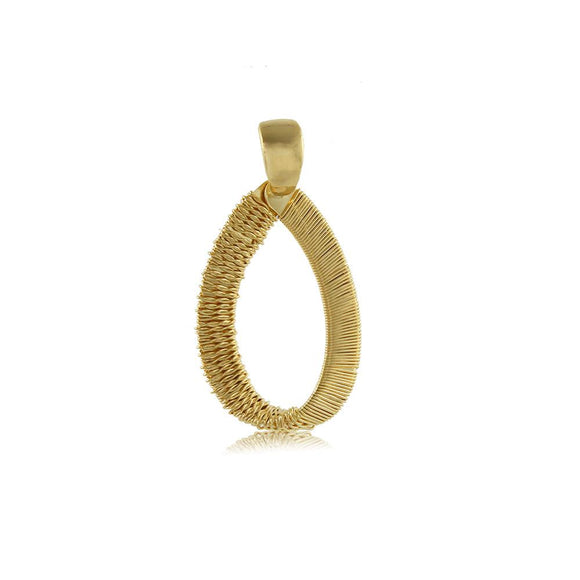 20016R 18K Gold Layered Pendant