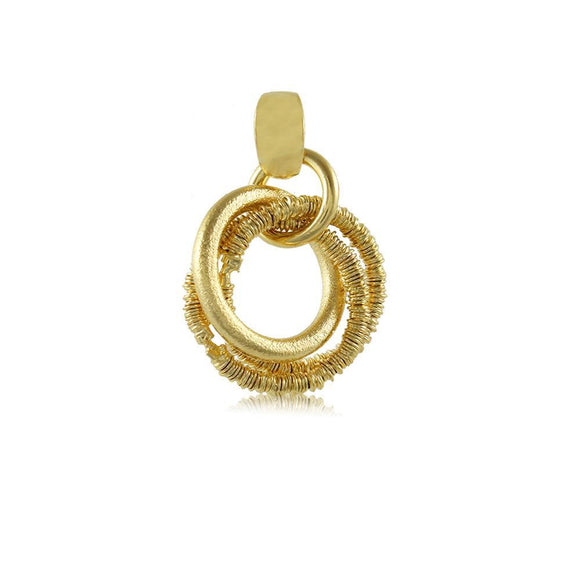 20044R 18K Gold Layered Pendant