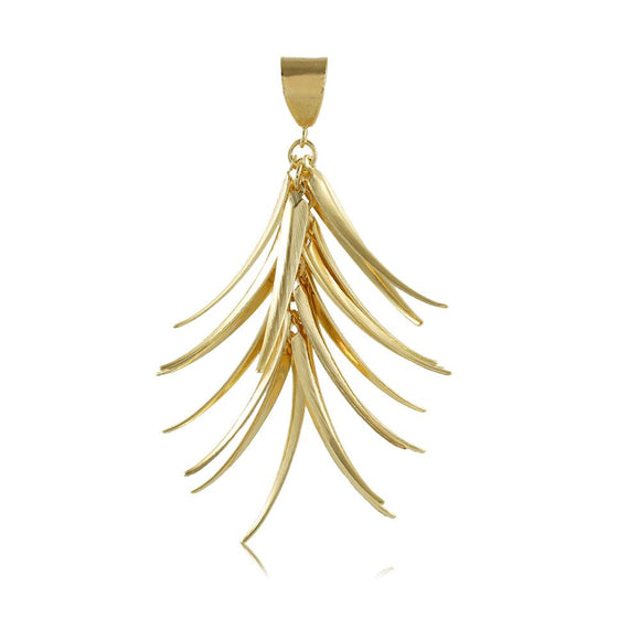 20051R 18K Gold Layered Pendant
