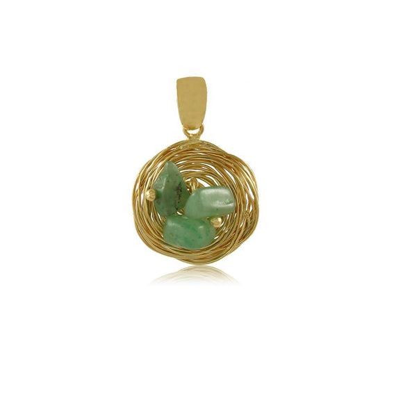 20058R 18K Gold Layered Pendant
