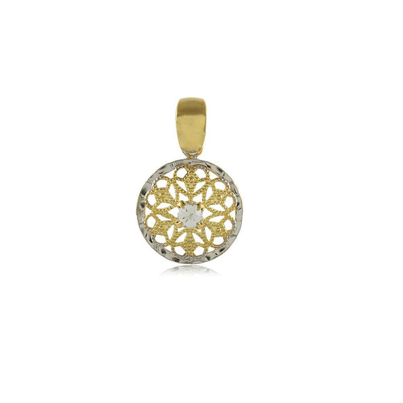 20091R 18K Gold Layered Pendant