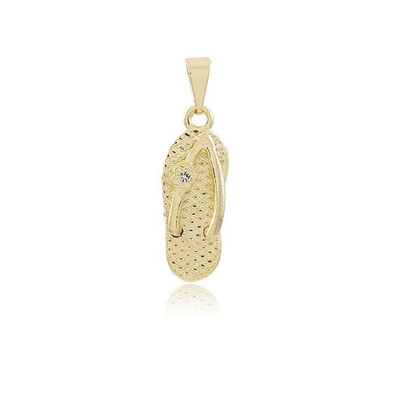 26031 18K Gold Layered Pendant