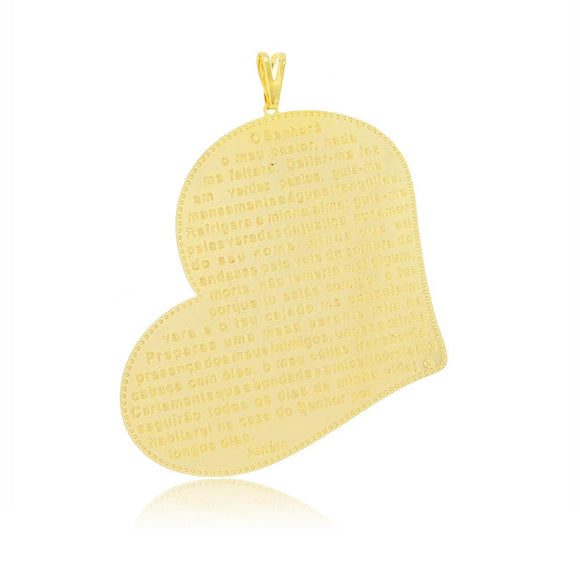 26135 18K Gold Layered Pendant