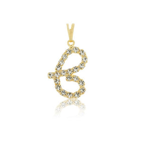 26248 18K Gold Layered Pendant