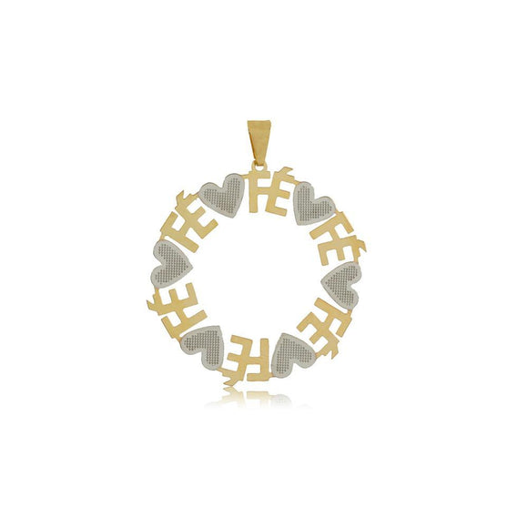 26320 18K Gold Layered Pendant