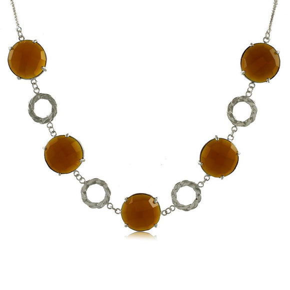 30040R 18K Gold Layered PNecklace 50cm/20in