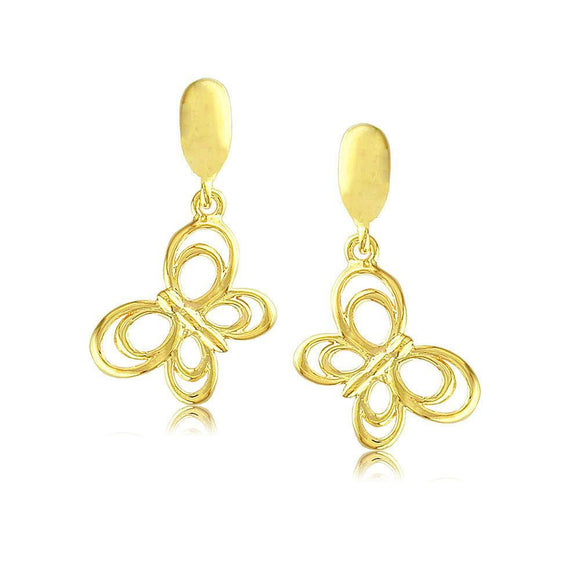 30384 18K Gold Layered Earring