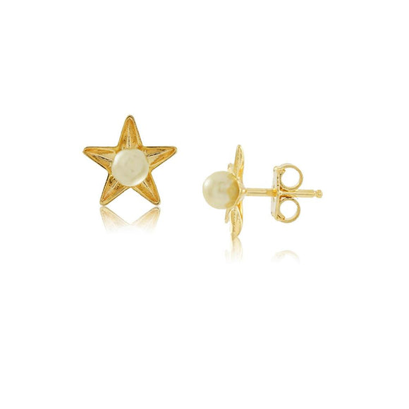 36002 18K Gold Layered Earring