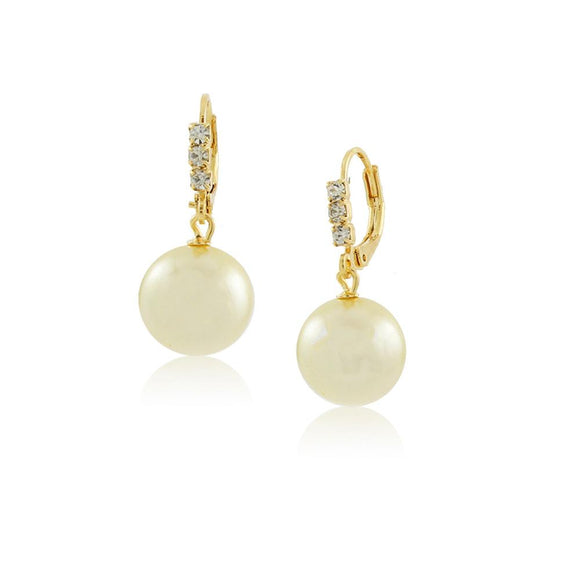 36006 18K Gold Layered Earring