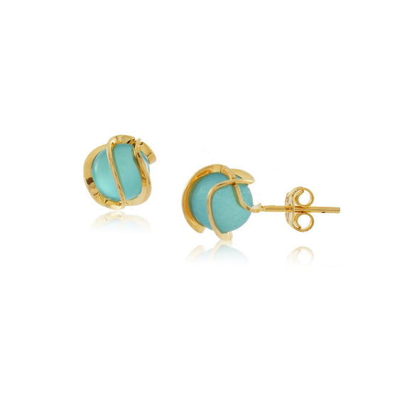 36040 18K Gold Layered Earring