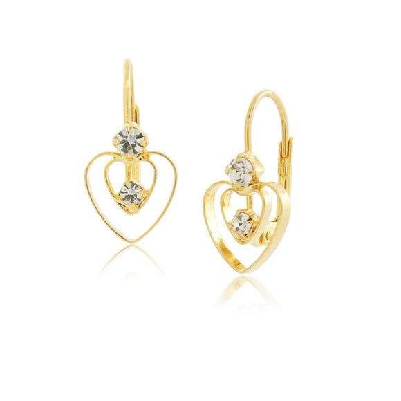 36067 18K Gold Layered Earring