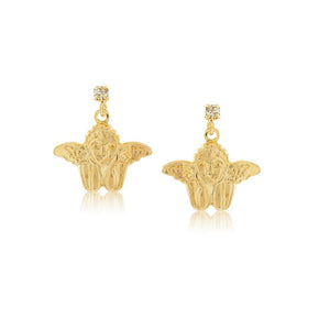 36077 18K Gold Layered Earring