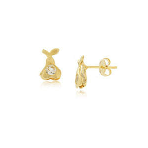 36084 18K Gold Layered Earring