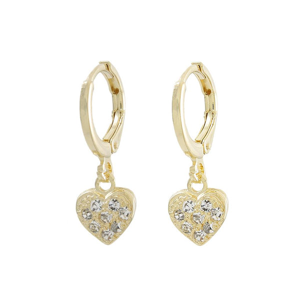 36103 18K Gold Layered Earring