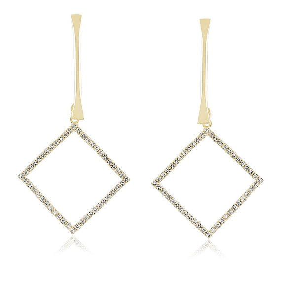 36106 18K Gold Layered Earring