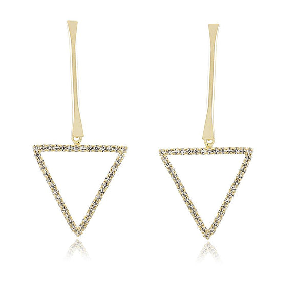 36107 18K Gold Layered Earring