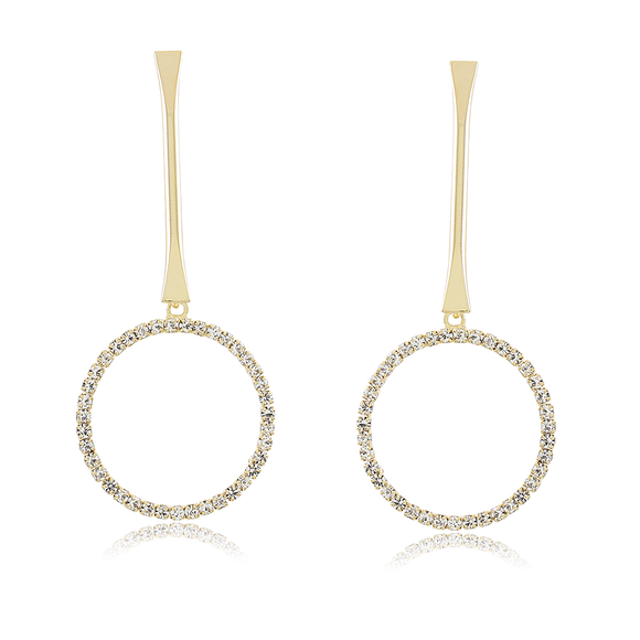 36113 18K Gold Layered Earring