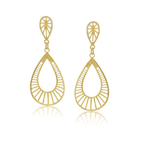 36207 18K Gold Layered Earring