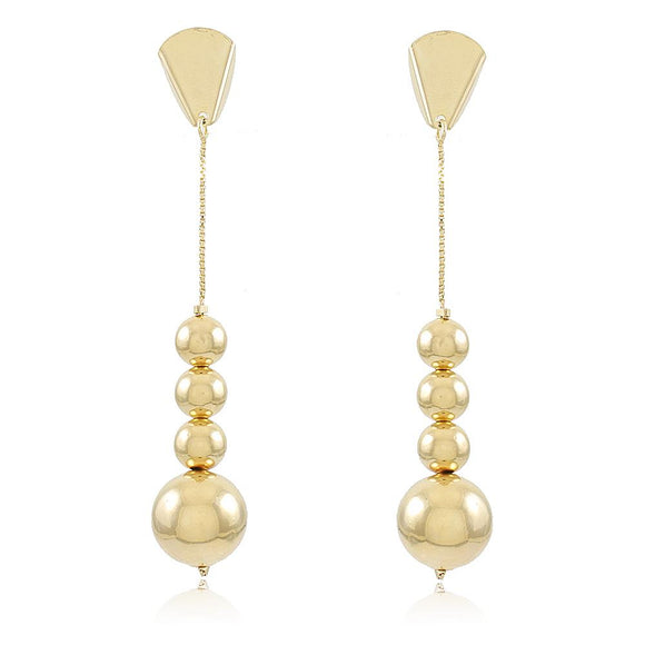 36229 18K Gold Layered Earring