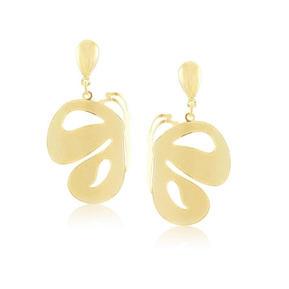 36282 18K Gold Layered Earring