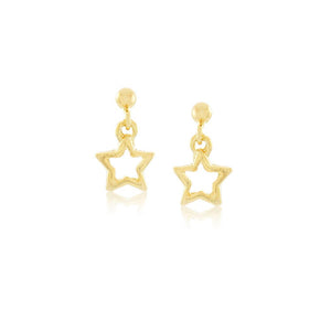 36298 18K Gold Layered Earring