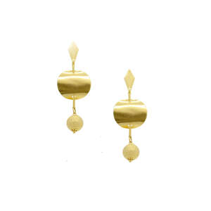 36399 18K Gold Layered Earring