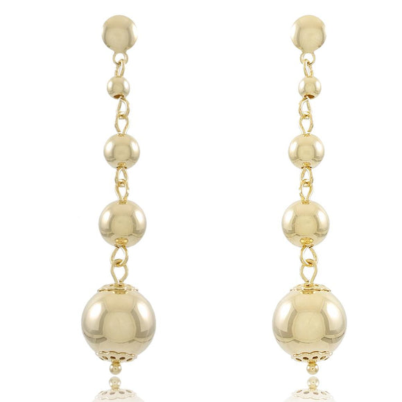 36513 18K Gold Layered Earring