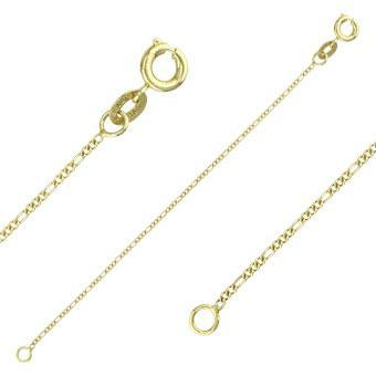 40003 18K Gold Layered -Chain 50cm/20in