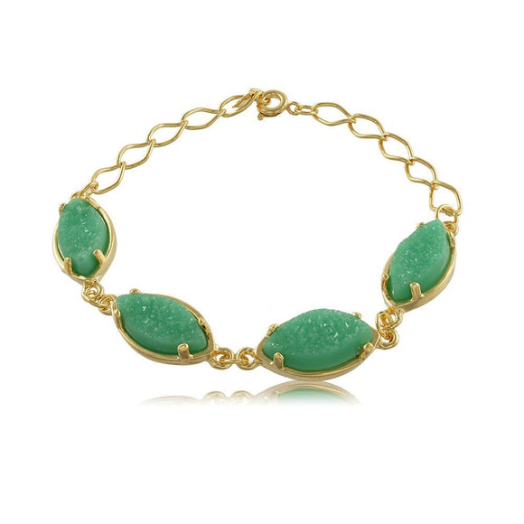 40058R 18K Gold Layered Bracelet 20cm/8in