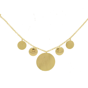 46005 18K Gold Layered Necklace
