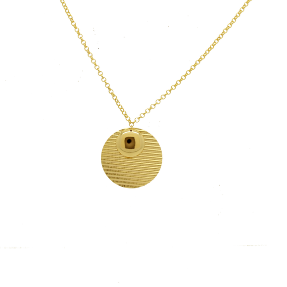 46012 18K Gold Layered Necklace