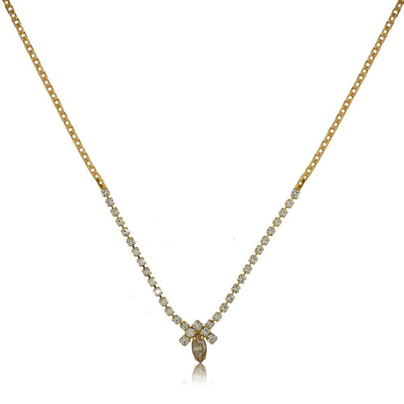 46015 18K Gold Layered Necklace 40cm/16in