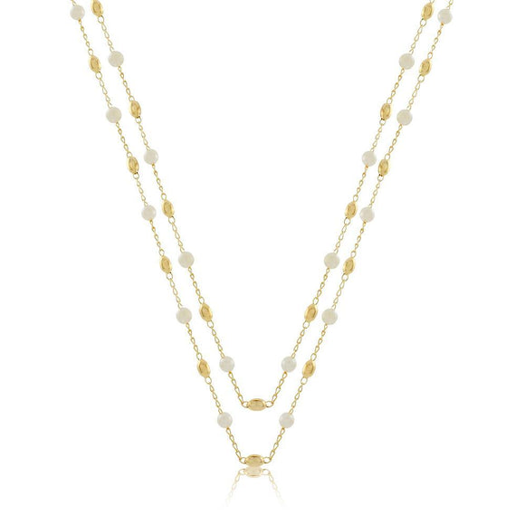 46033 18K Gold Layered 120Necklace 120cm/48in