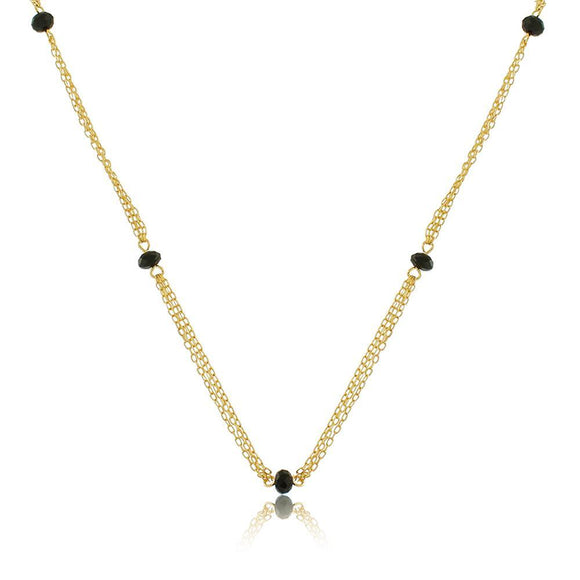 46057 18K Gold Layered Necklace 70cm/28in