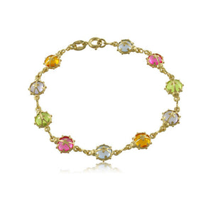 51330 18K Gold Layered -Kid's Bracelet 14cm/5.5in