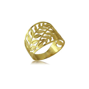 62417 18K Gold Layered -Women's Ring