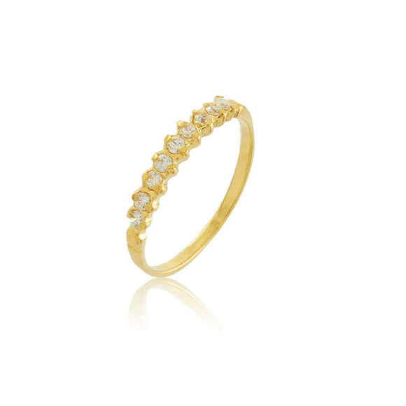 66005 18K Gold Layered Women's Ring