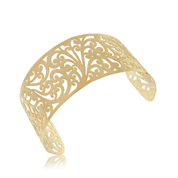 86022 18K Gold Layered Bracelet Adjustable