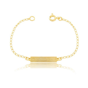 86058 18K Gold Layered Bracelet 14cm/5.6in