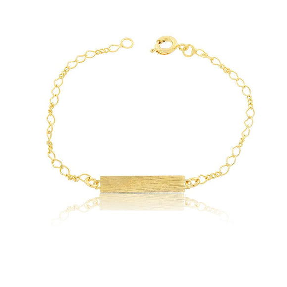 86059 18K Gold Layered Bracelet 16cm/6.4in