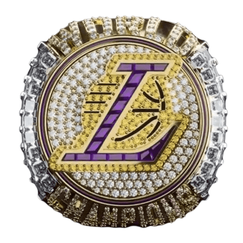 2020 LAKERS DETACHABLE RING - LEBRON JAMES