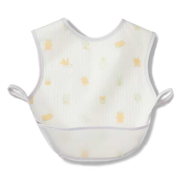CRAFTHOLIC Baby & Kid's お食事エプロン(YELLOW・GRAY)