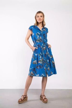 Elements of Freedom - Kleid Jill Cobalt Blue 100% Ecovero Viskose